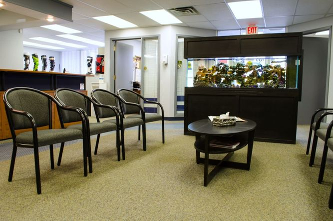 view of a reception area